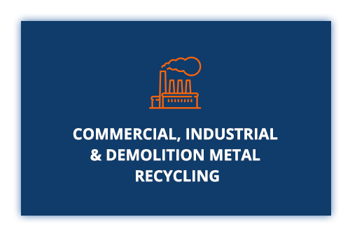 Commercial, industrial and demolition metal recycling