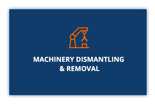 Machinery Dismantling and removal