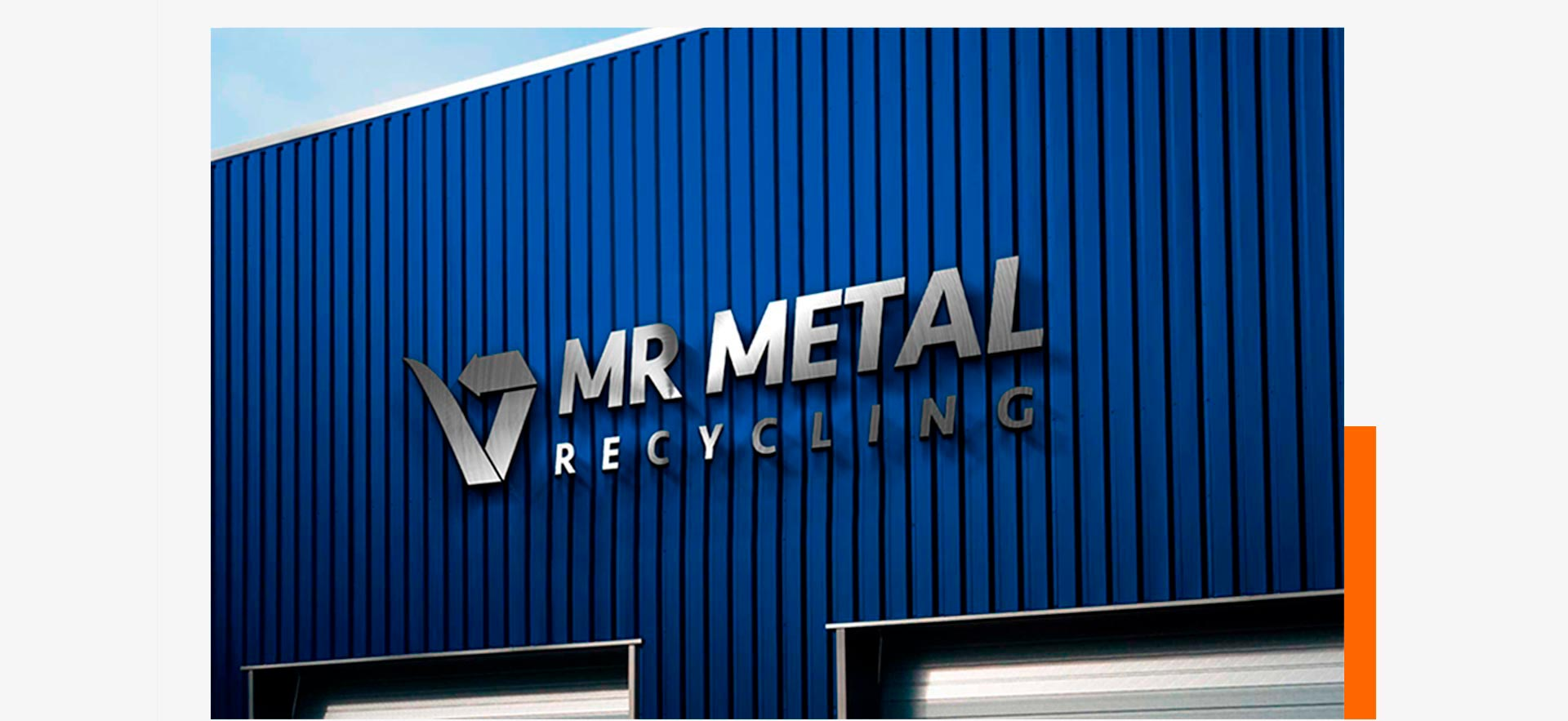 Mr Metal Recycling Sign